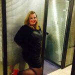 Anne, charmante blonde bbw, opé pour rencontres sur Paris