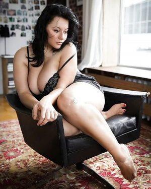 La plus belle femme obèse que nous ayons vue