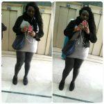 Relation sincère avec Fatou, Africaine ronde, de Bobigny