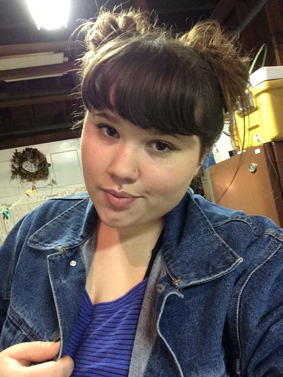 Manon, étudiante grassouillette de Brest