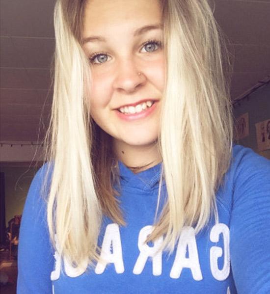 Ophélie, blonde bonne vivante de Rennes