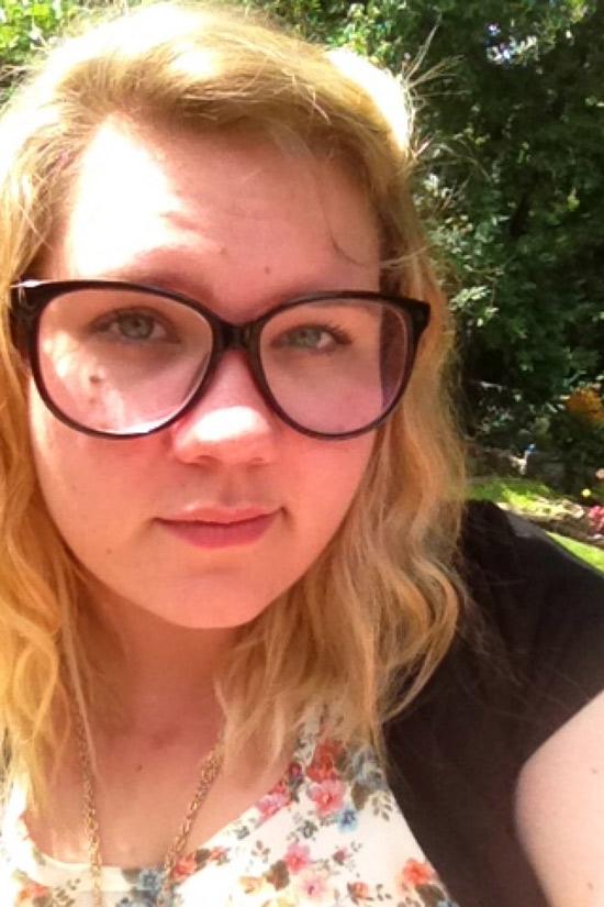 Stéphanie, blonde ronde de Strasbourg